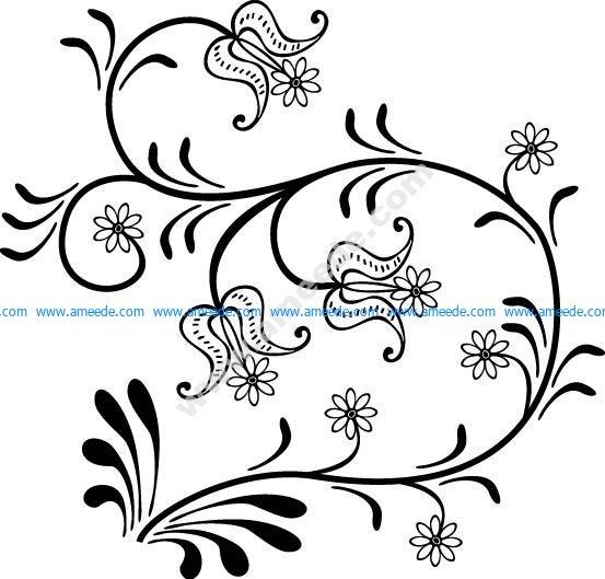 Floral Design 22 EPS