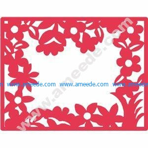 Floral Nature Frame