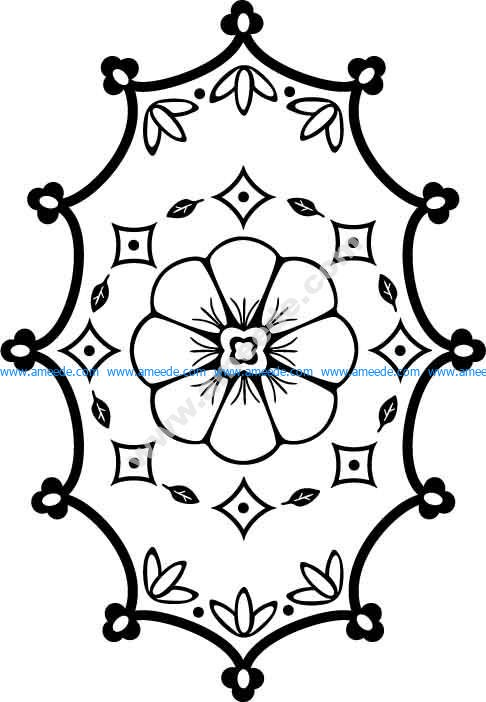 Floral Pattern 07 EPS
