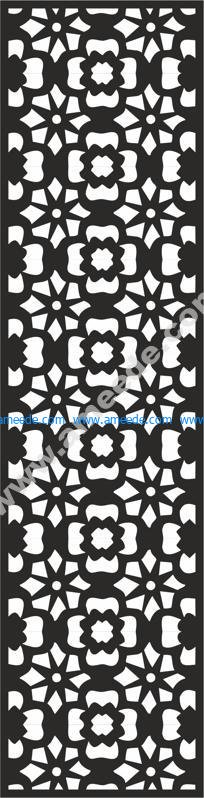Flower Carving Pattern