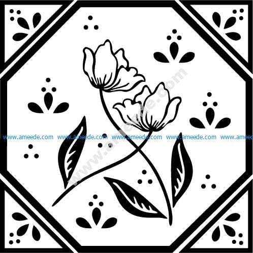 Flower Design 23 EPS