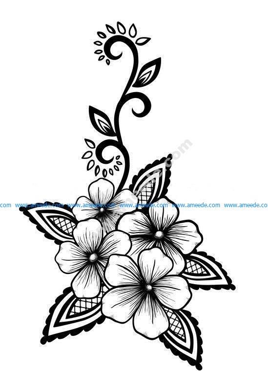 Flowers Vector Art