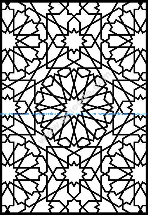 Granada geometric pattern