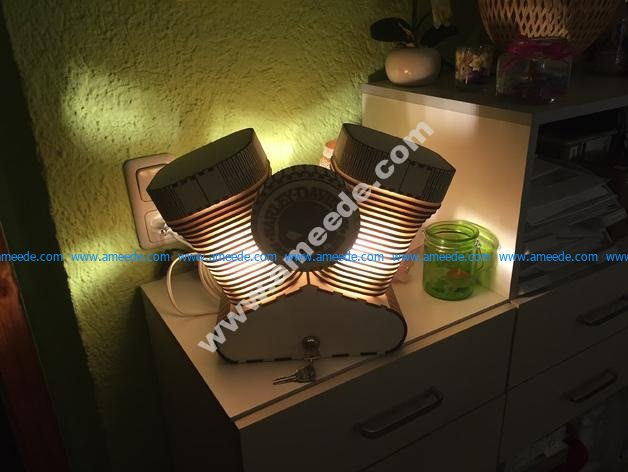 Harley Davidson table lamp