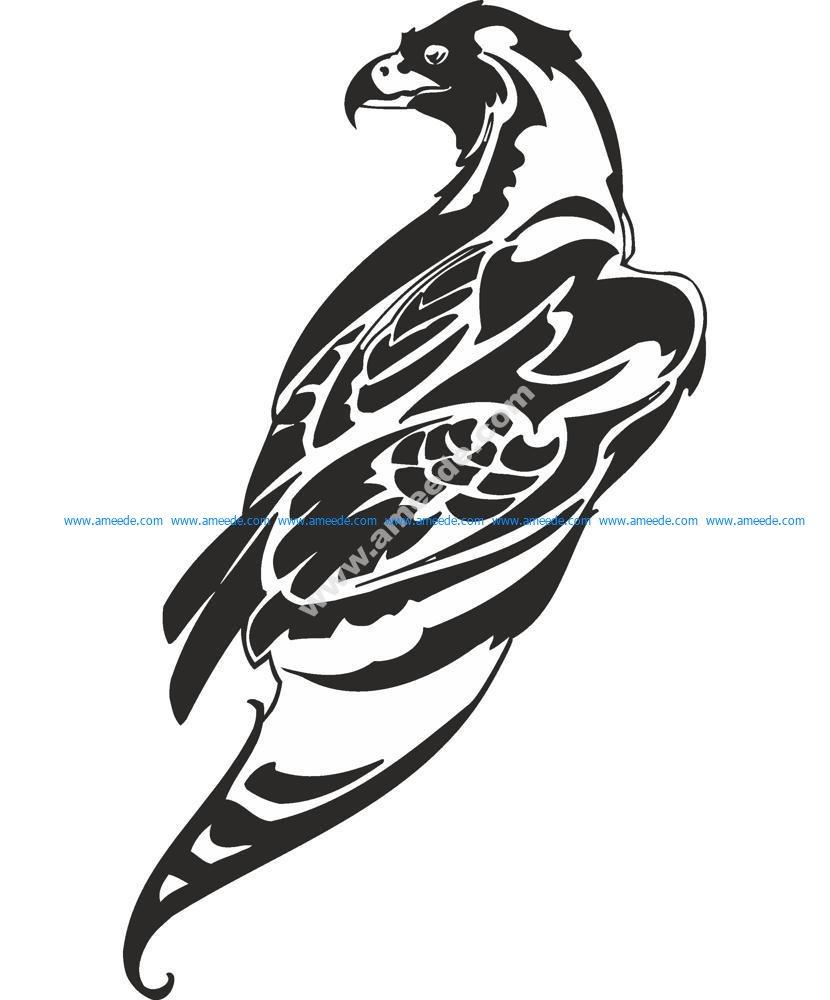 Hawk Vector Art