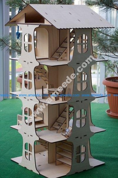 House 5 Floors 3D Puzzle