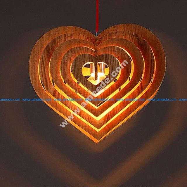 Lamp Fiery Heart Danko
