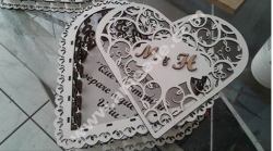 Laser Cut Heart Box