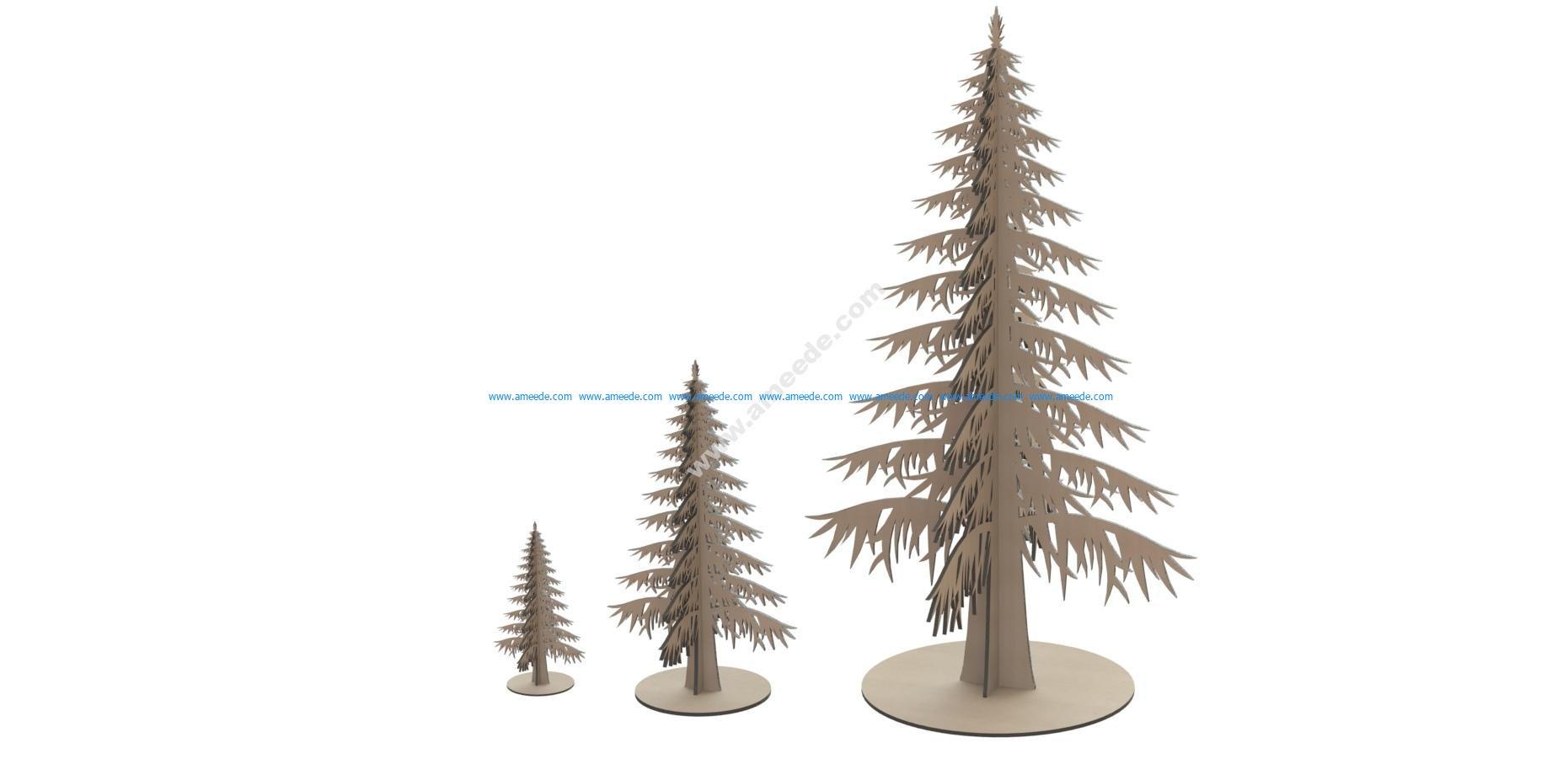 Laser Cut Mdf Wooden Tree