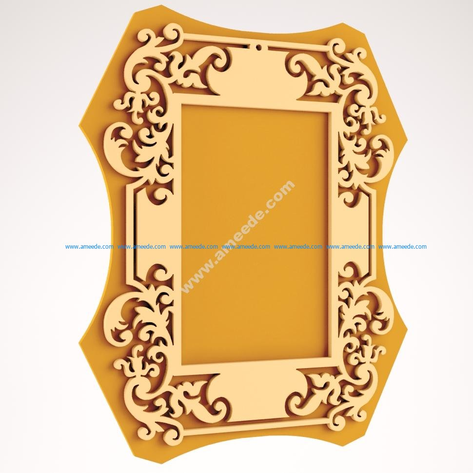 Laser Cut Wood Frame Laser Cut Wood Frame
