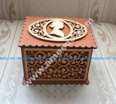 Lasercut Cameo Box