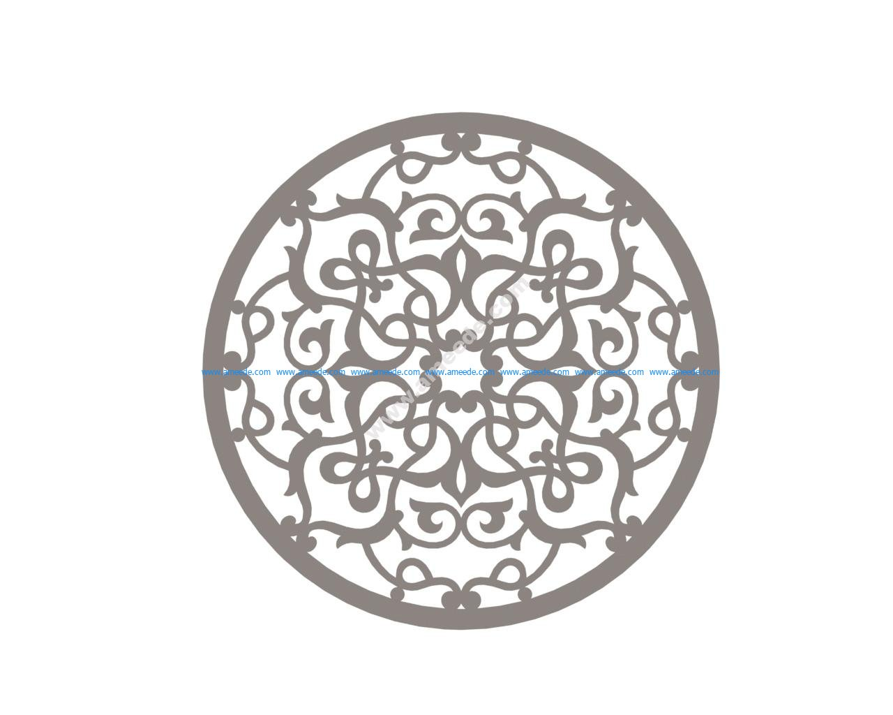 Mandala Design Element Vector Art