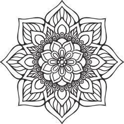 Mandala Indian Vector