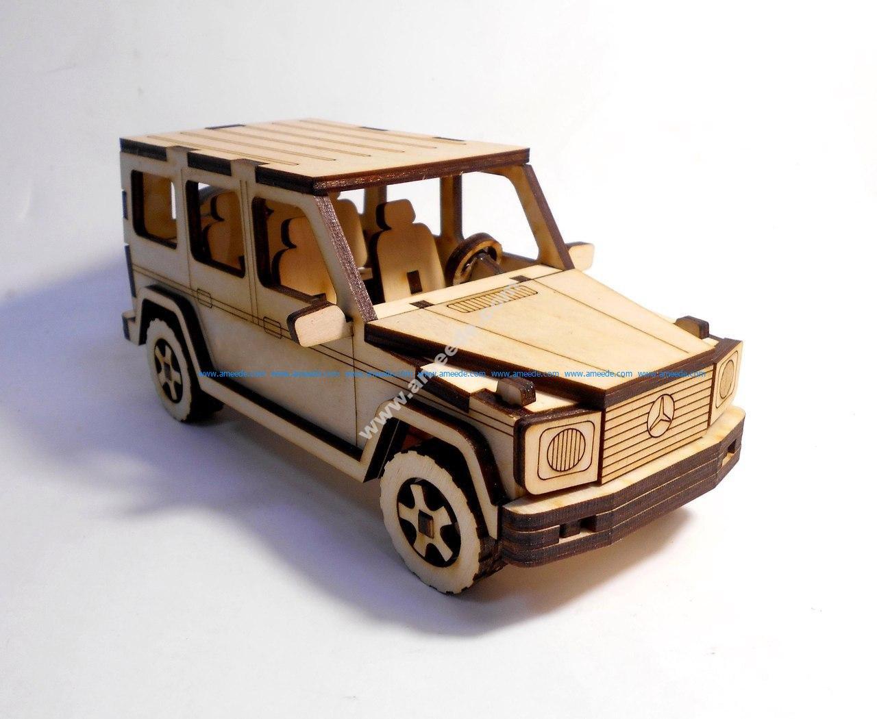 Mercedes-Benz G-Class 3D Puzzle