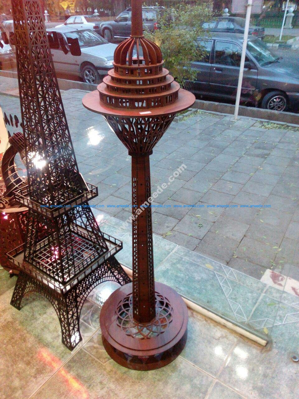 Milad Tower 3D Puzzle