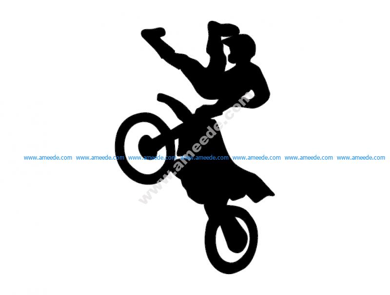 Motorbike Acrobatic