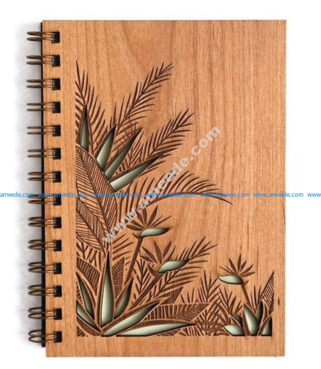 Notebook Cover CDR