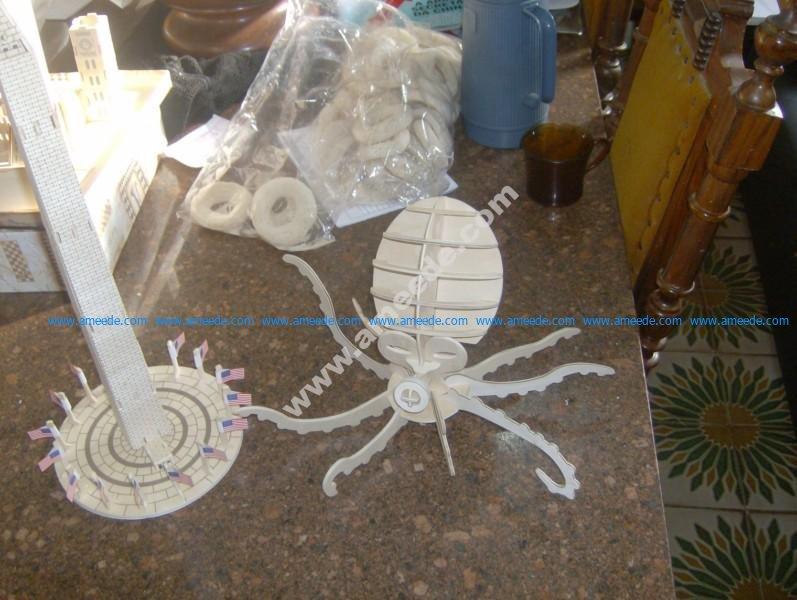 Octopus Model Flat