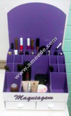 Organizer For cosmetics Plywood 3mm