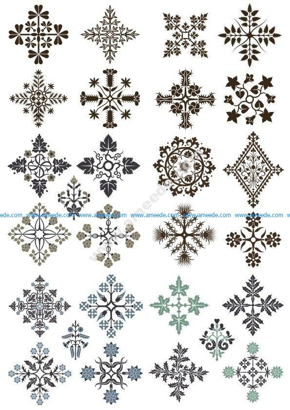 Ornamental Floral Patterns