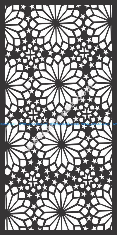 Ornamental round morocco seamless pattern