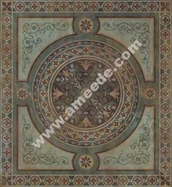 Painted Faux Carpet