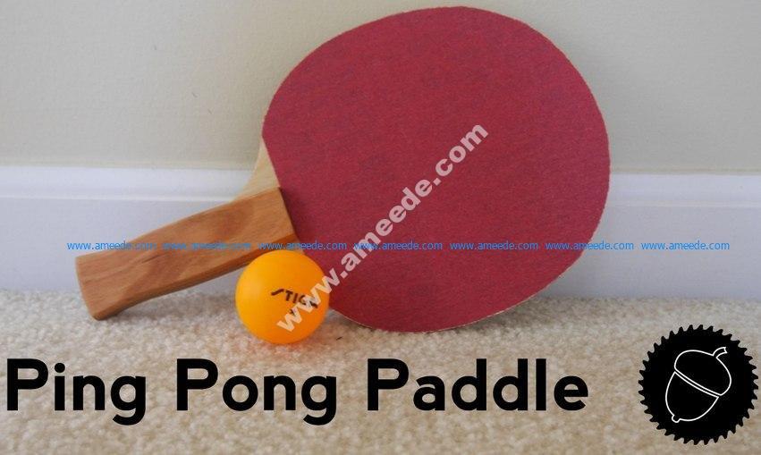 Ping Pong Paddle Blade