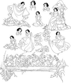 Pretty Snow White And Seven Dwarfs Grumpy