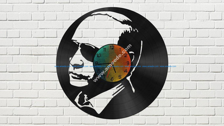 Putin Vinyl Clock