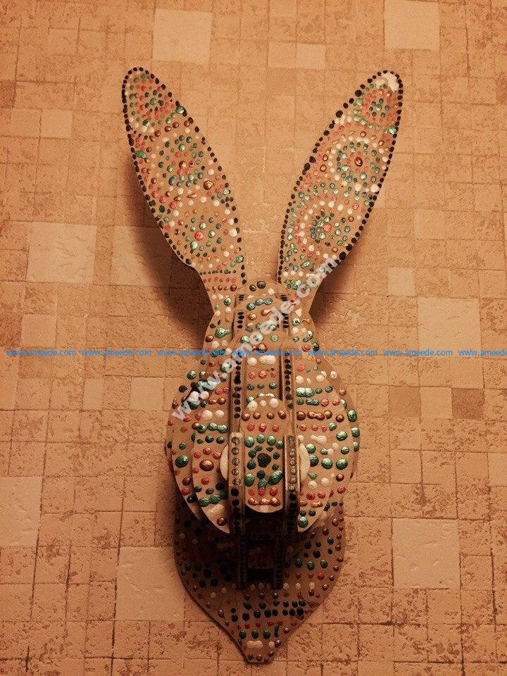 Rabbit Head 3D Plan