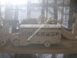 School Bus Model Flat