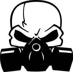 Scull Decal