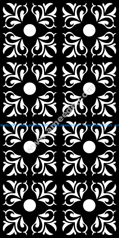Seamless pattern mosaic ornamental vector