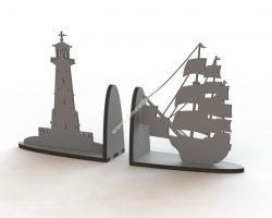 Ship Book Support Laser Cut
