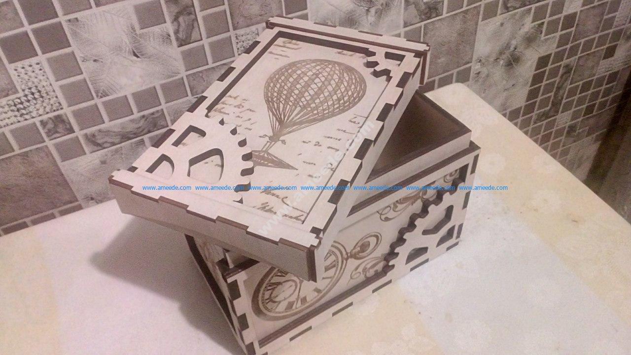 Shkatulka Stimpank