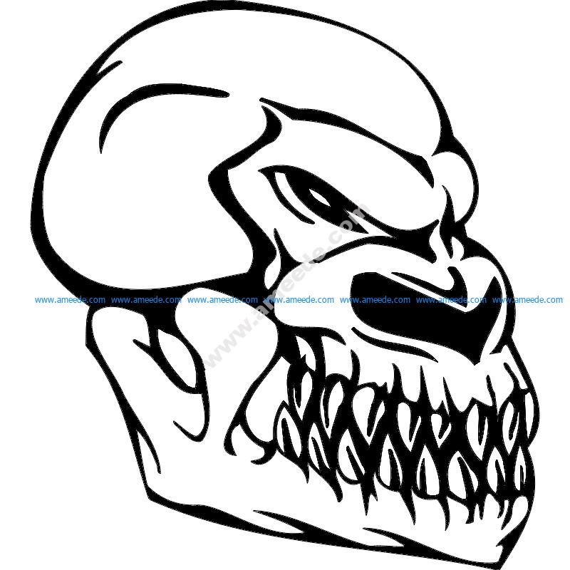 Skull 004