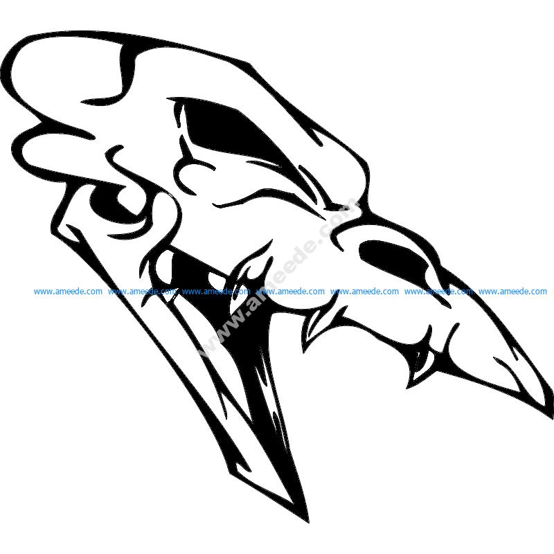 Skull 008
