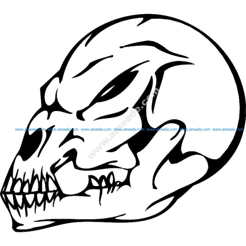 Skull 019
