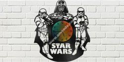 Star Wars Clock Plans Darth Vader Stormtrooper