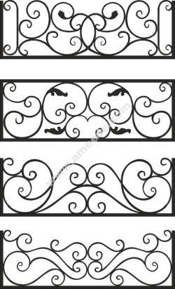 Steel Balcony Rails