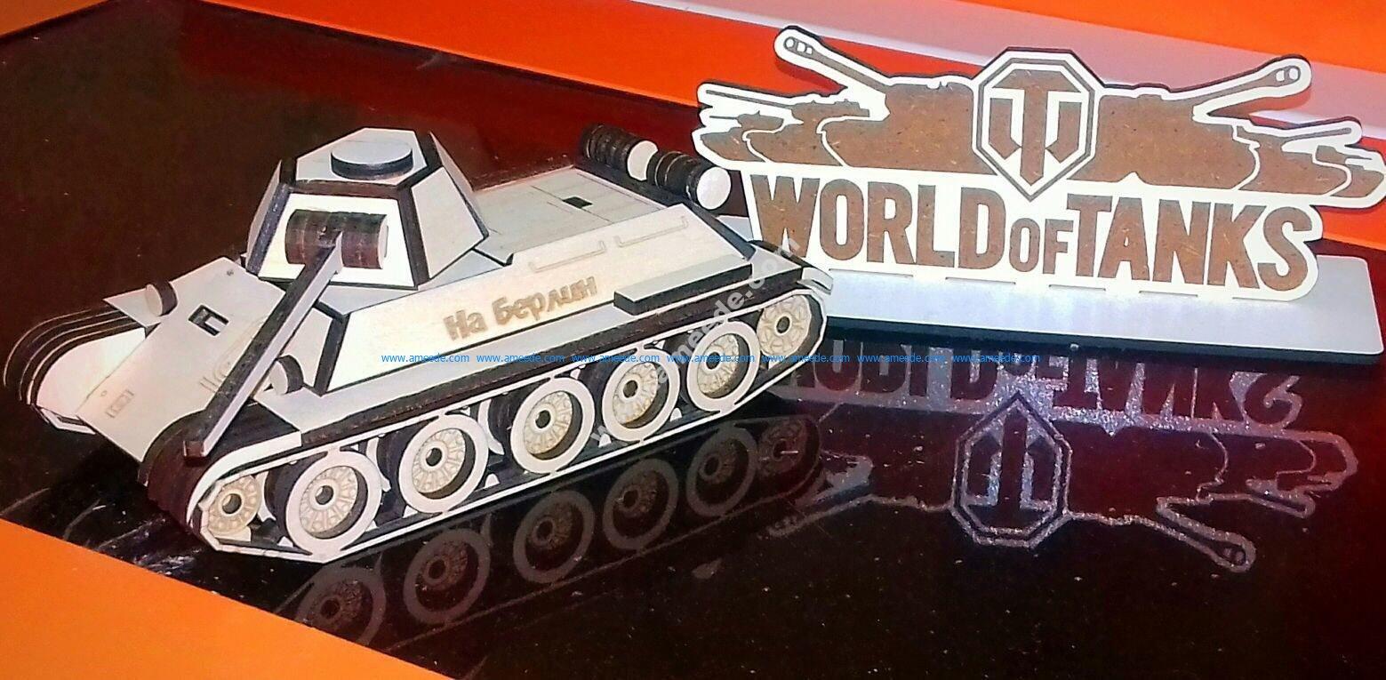 Tank T34 V Tyuninge