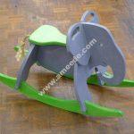 Toy Elephant Rocker