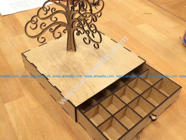 Tree of Life Jewelry Box