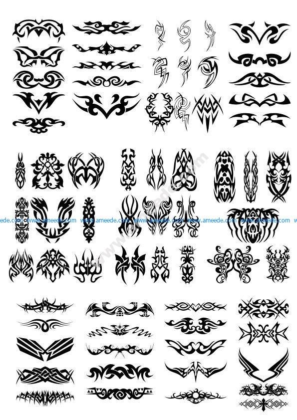 Tribal Graphics Tattoo