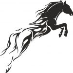Tribal Horse Unique Tattoo for Men