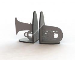 Trumpet Book Support Laser Cut