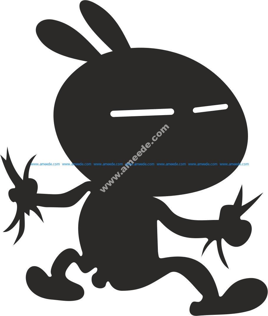 Tuzki Rabbit Zayats Tuzki