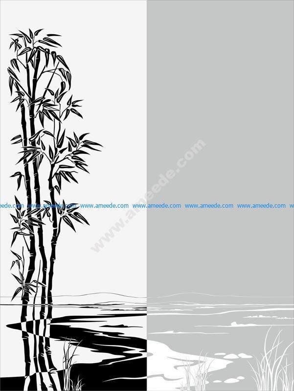Vector seamless sandblast pattern