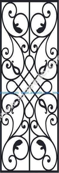 Victorian Iron Pattern