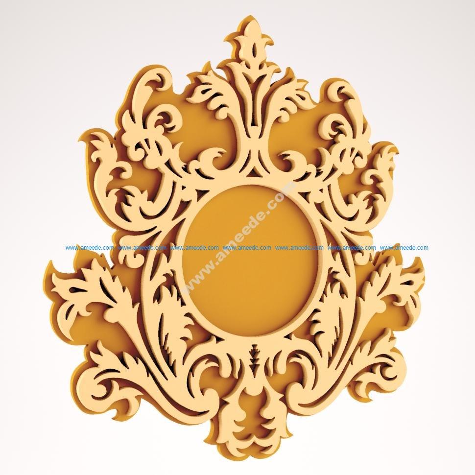 Wall Mirror Frame Design